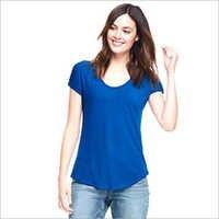 Women Scoop Neck T-Shirt