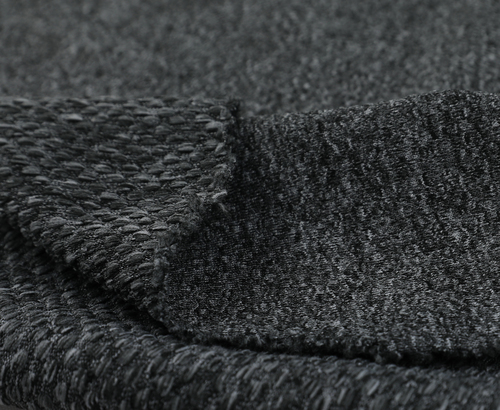 Heather Knit Polyester Fabric
