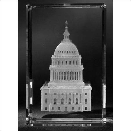 3D Photo Crystals and Laser Photo Engraving