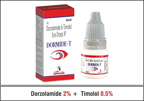 Dorzolamide 2% + Timolol 0.5%