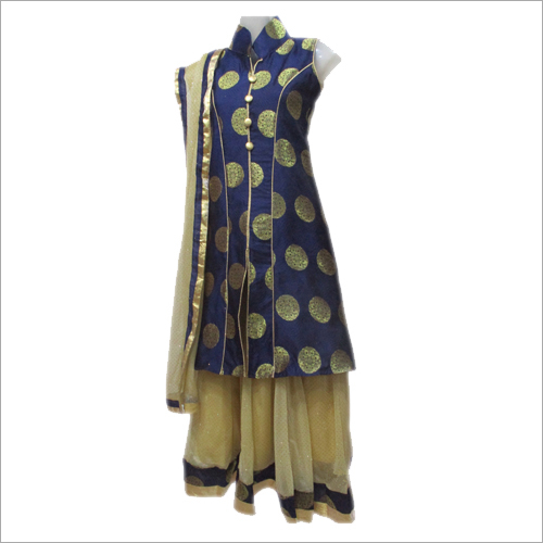 Women's Embroidered Lehenga Choli Dupatta Set