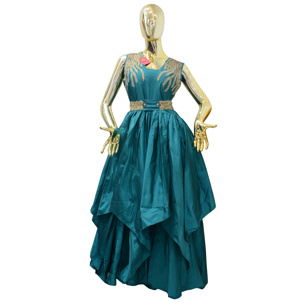 Ladies Party Wear Gown - Ladies Party Wear Gown Manufacturer ...
