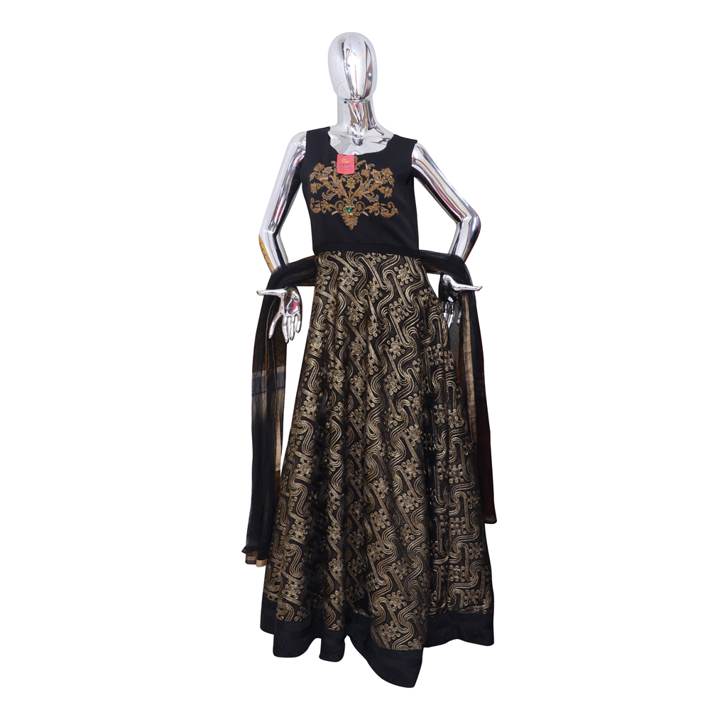 Ladies Designer Gown with Duppata