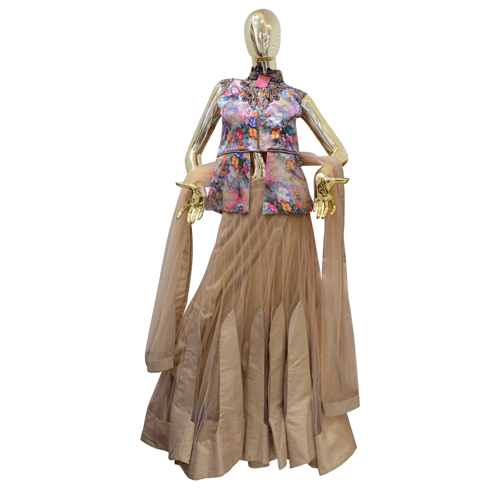 Ladies Indo Western Monica Lehenga