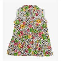 Girls Collar Neck frock