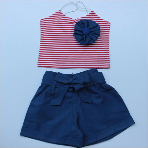 Designer Girls Skirt & Top