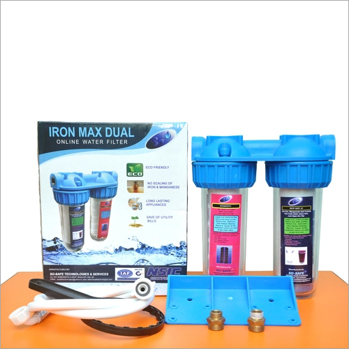 Iron Max Dual Water Softener