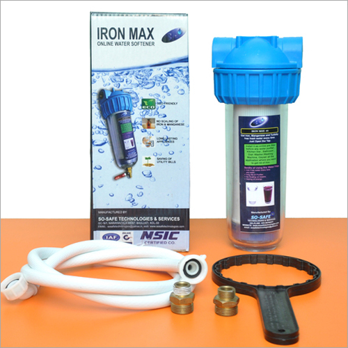 Iron Max Single Water Softener