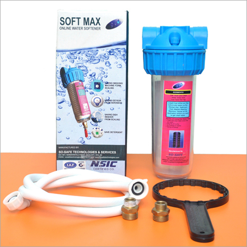 Soft Max Single Water Softener