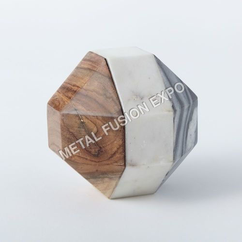 Wood + Marble Object