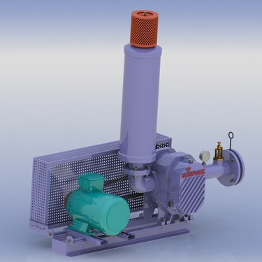 Industrial Twin Lobe Blower