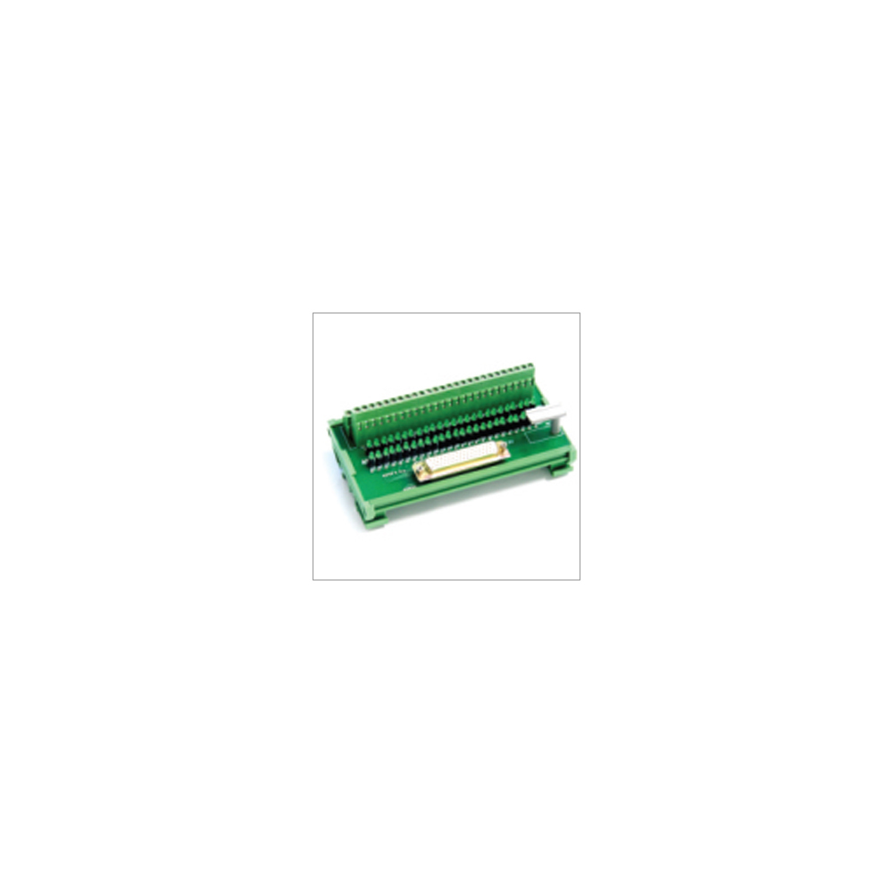 50 Female D Connector with LED D Type To Terminal Block