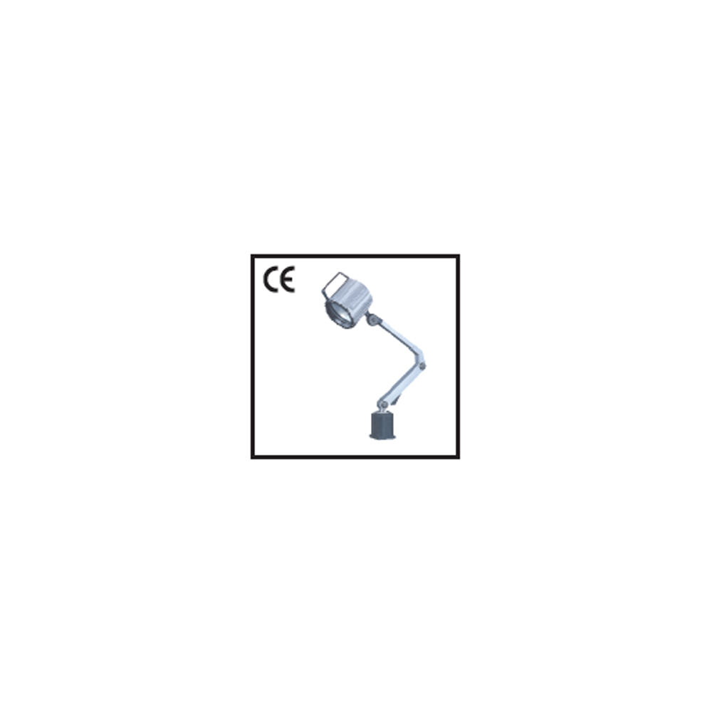 Input 230AC-9 Watts, In LED Halogen led Machine Lamp With Medium Arms