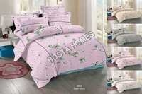 Light Pink King Size Bed Sheet