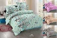 Multicolor Printed Cotton Bed Sheet