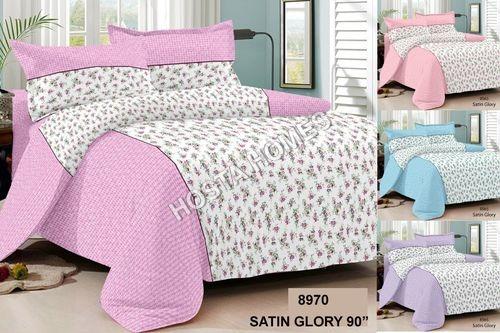 Satin Glory Printed Bed Sheet