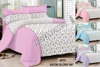 Satin Glory Printed Bed Sheet