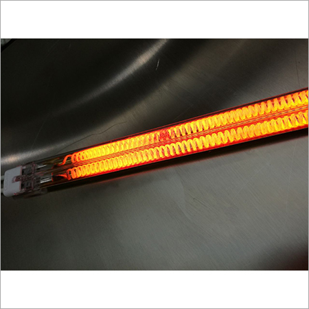 Twin Tube Shortwave Infrared Heaters