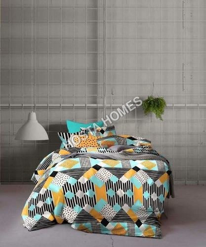 Abstract Design Cotton Bed Sheet