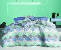 Abstract Designer Cotton Bed Sheet