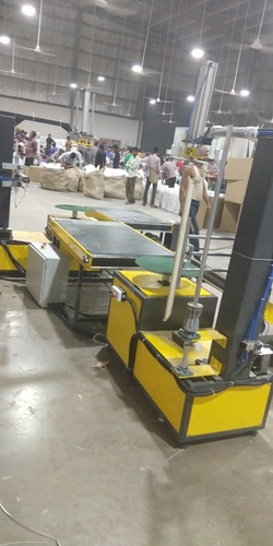 Auto Box Wrapping Machine