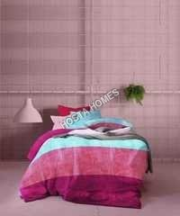 Designer Multicolor Printed Bed Sheet