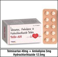 Telmisartan  40mg+Amlodipine 5mg+Hydrochlorthiazide 12.5mg