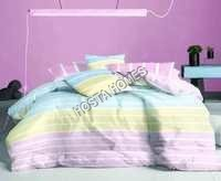 White Lining Cotton Bed Sheet
