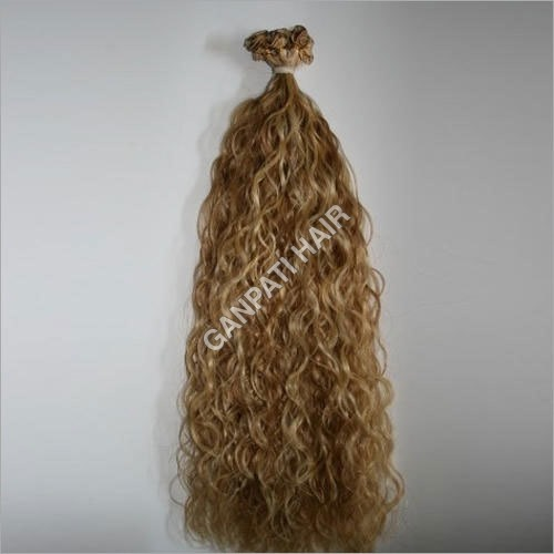 Blonde Loose Curly Hair