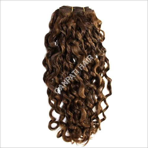 Brown Cambodian Curly Hair