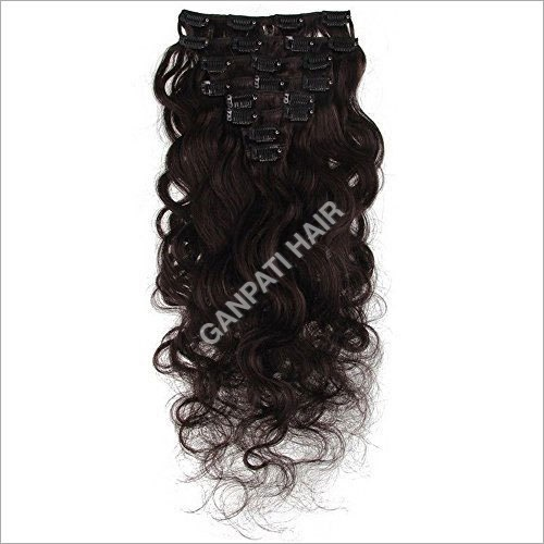 Virgin Clip- In- Hair Extension