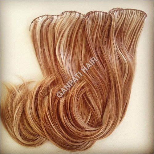 Hand Tied Hair Weft
