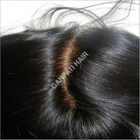 Indian Natural Closure Hairs