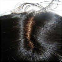 Indian Natural Closure Hairs