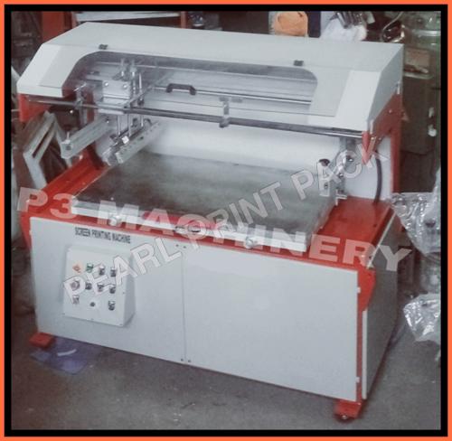Pneumatic Screen Printing Machie