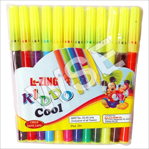 Lezing Kiddo Cool – Florescent Cap Sketch Pen