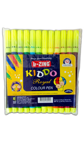 Lezing Kiddo Royal Sketch Pen