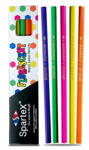 Spartex Florescent Polymer Pencils