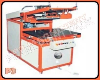 Big Size Pneumatic Flat Screen Printing Machine