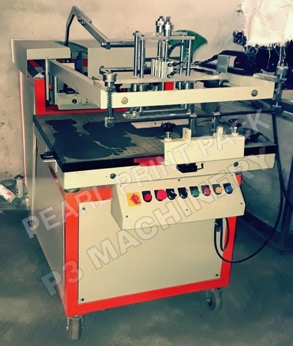 Deluxe Flat Screen Printing Machine