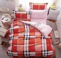 Multicolor Reversible Cotton Comforter Set 4 Pcs
