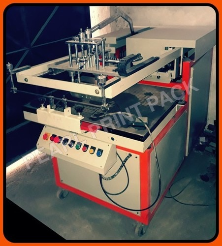 Pneumatic Flat Screen Printing Machine