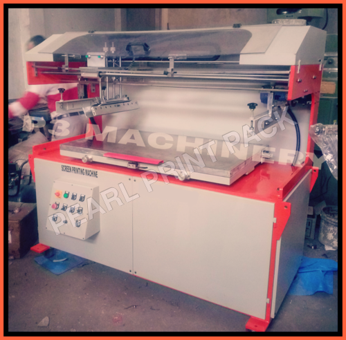Clamshel Flat screen Printing Machine