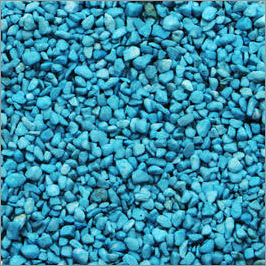 Aqua Blue  Colour Aquarium Gravel