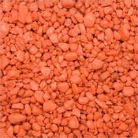 Orange Colour Aquarium Gravel