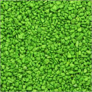 Green  Colour Aquarium Gravel