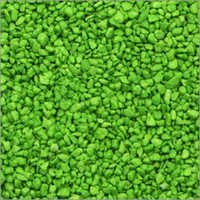 Green  Colour Aquarium Gravel