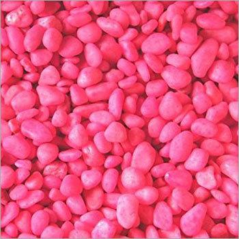 Pink Colour Aquarium Pebble
