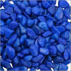 Blue Colour Aquarium Pebble
