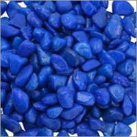 Blue Colour Aquarium Pebble
